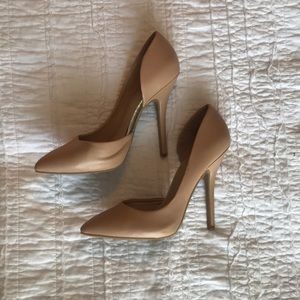 Just Fab nude pumps